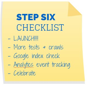 Website Redesign Checklist 6